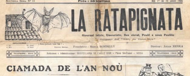 Bonne année, avec La Ratapignata