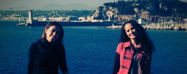 Vaquì à Nice avec Angélique Marçais, Reine du Félibrige